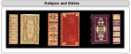 Religion and Bibles